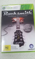 Rocksmith Authentic Guitar Games xbox 360 Game Only
