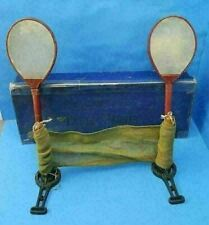 RARE VTG The CAVENDISH Table Tennis PING PONG Set w/ Paddles & Box by FH AYRES