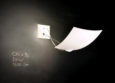 Ingo Maurer / 18x18 Wall or Ceiling Lamp.