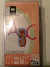 Cricut Cartridge ZooBalloo NIP