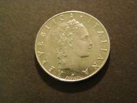 1959-R 50 LIRE ITALY AU Foreign Coin