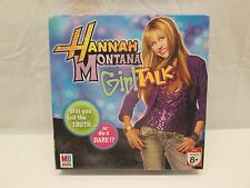 Hannah Montana Girl Talk Board Game by Milton Bradley NEW Sealed