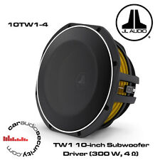 "JL Audio 10tw1-4 - 12"" 300 WATT Shallow Subwoofer Subwoofer Bass Mount"