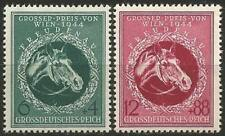 Germany (Third Reich) 1944 MNH - Vienna Grand Prix Horse Race - Vienna-Freudenau