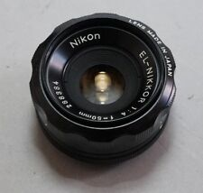 Nikon EL Nikkor 50/4 Enlarging Lens