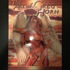 The Art of Greg Horn by Greg Horn (2005, Paperback) NEW OOP Image Comics book