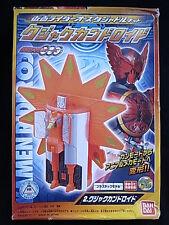 Bandai 2011 Kamen Rider OOO Kujaku Peacock Candroid Gashapon Candy Toy Figure JP