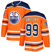 WAYNE GRETZKY JERSEY EDMONTON OILERS #99 TEAM PLAYER ICE HOCKEY MEN NEW