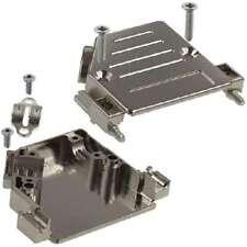 974-025-020R121 NORCOMP BACKSHELL DB25 METAL PLASTIC 40DEG 10pcs