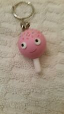 Kidrobot Heidi Kenney Yummy Urban Vinyl Fake Food Treat Cake Pop Keychain