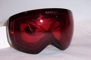 New Oakley SNOW GOGGLES FLIGHT DECK™ PRIZM™ OO7050-03 BLACK/ROSE AUTHENTIC 7050