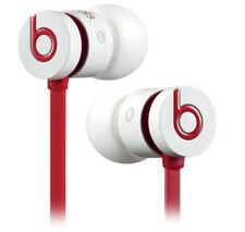 Écouteurs rouges, de la marque Beats by Dr. Dre microphone