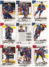 1997-98 Pinnacle BAP Be A Player Signature St. Louis Blues Team Set (9)