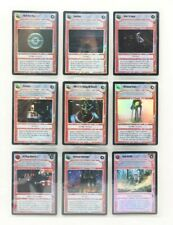 Star Wars CCG Foil Lot of 9 Mixed Cards 1999-2000 Decipher Lot 12