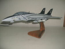 F-14B Navy F14 Wood Airplane Model BIG Free Shipping