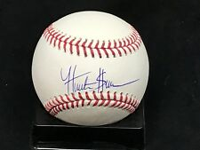Hunter Greene Autograph Rawlings OMLB Baseball JSA Sig Debut Certified COA Reds