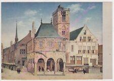 CP ART TABLEAU  PIETER JANSZ SAENREDAM L'ancien hôtel de ville d'Amsterdam