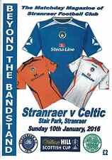 Stranraer v Celtic 10/01/16 + Team Sheet    Scottish Cup - Live on SKY TV