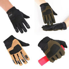 Mens Outdoor Tactical Gloves Military Full Finger Hunting Shoot Riding Driving