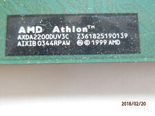 CPU Prozessor AMD Athlon XP 2200+ AXDA2200DUV3C FSB266 Sockel A 462 grün