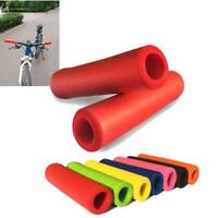 1 Pair Silicone Bike Cycling Handlebar Grips Bicycle MTB BMX Bike Lock Grips QK