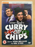 Curry and Chips DVD Johnny Speight British TV Comedy Series w/ Spike Milligan