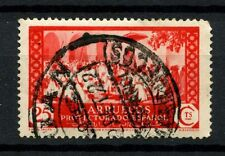 Spanish Morocco 1933 SG#157, 25c Scarlet Used #A50318