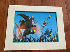 Disney Store 1999 Lithograph a Bug's Life with Mat