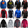 US Men Hooded Hoodie Coat Jacket Sweater Fit Jumper Zipper Pullover Tops Outwear