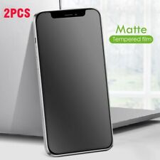 For iPhone X/XS 11 12 Pro Max XR 6s 7 8+ Matte Tempered Glass Screen Protector ☃