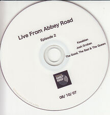 KASABIAN JOSH GROBAN Live From Abbey Road Episode 2 2007 promo DVD