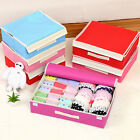 16 Cell Organizer Underwear Closet Drawer Box Divider Socks,Tie,Bra Storage Case