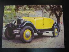 Postcard Classic Car yellow