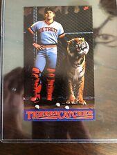 Lance Parrish Tiger Catcher Rare Nike Postercard MINT Cond Detroit Tigers