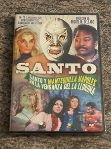 Santo Y Mantequilla Napoles En La Venganza Del La Llorona (DVD, Spanish) NEW