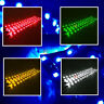 4PCS 12'' DC 12V Waterproof LED Strip Underbody Light For Motorcycle Car Truck