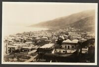 Postcard Middle East Palestine view of Tiberias and Sea of Galilee early RP