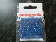 2 metre pack 5mm dark blue fritz great 4 mini lures, newage wets and crunchers
