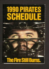Pittsburgh Pirates--Mike LaVaillere--1990 Pocket Schedule--14WK