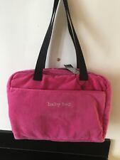 Iconic Sonia Rykiel Velour Diaper Bag Hot Pink Nwt
