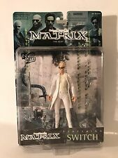 """The Matrix Switch Poseable 6"""" Action Figure N2 Toys Movie Film Series 1999 New"""
