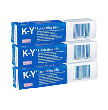3 X Jelly KY Lubricating GEL 82g K-y BRAND Sterile Tube