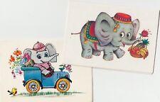 1985-1989 Russian Soviet postcards Lot 2 Not used С днем рождения! Поздр��вляю!