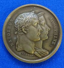 Frankreich - Bronzemedaille AN XIII (1804) v. Brenet - Napoleon I. Krönungsfeier