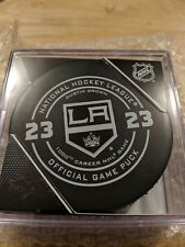 DUSTIN BROWN Official 1000th NHL Game Puck LOS ANGELES KINGS