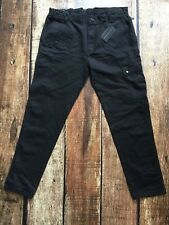 Sean John Slim Fit Jogger Jeans Coated Black Mens Size 36 New 096413466106