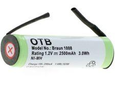 Original OTB Akku kompatibel zu Braun (1008) und Philips (HX5350) Zahnbürsten