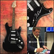GFA Teen Idol Legend * FRANKIE AVALON * Signed Electric Guitar PROOF AD2 COA