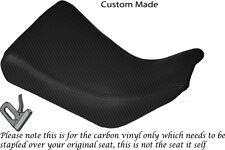 CARBON FIBRE VINYL CUSTOM FITS SUZUKI 400 GSXR GK71F FRONT SEAT COVER ONLY