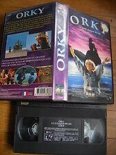 Orky (Le Petit Dragon Du Lac) de Rick Stevenson, VHS Gaumont, Comédie, RARE!!!